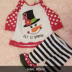 Other - Snowman Christmas outfit